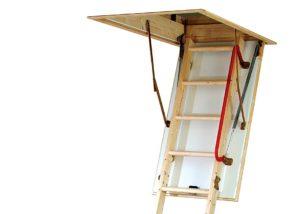 loft ladder fitting