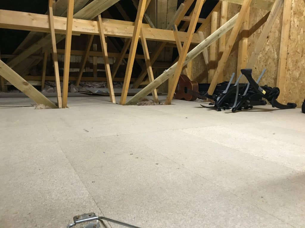 Loft Flooring in South Queensferry