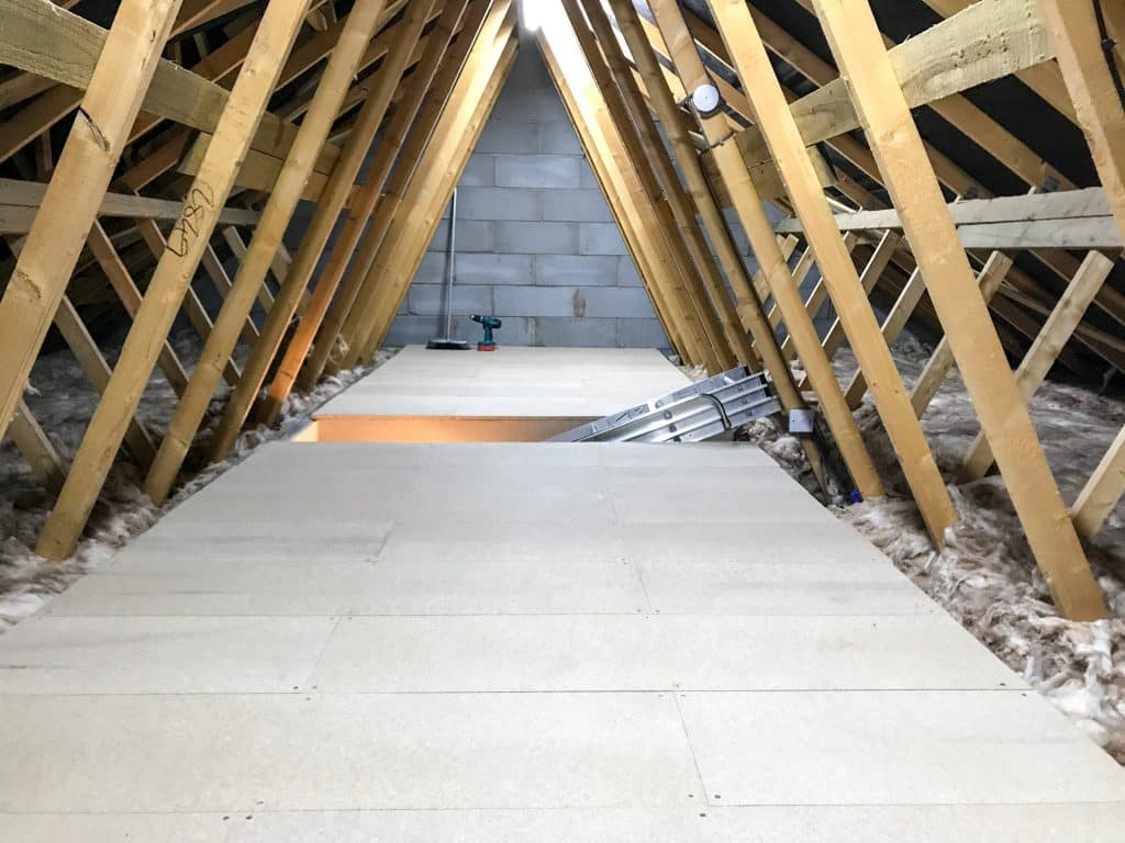 Loft Flooring in Kirkliston