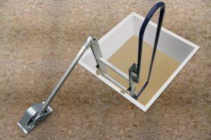 Abru Easy Stow Loft Ladder Spring Arm