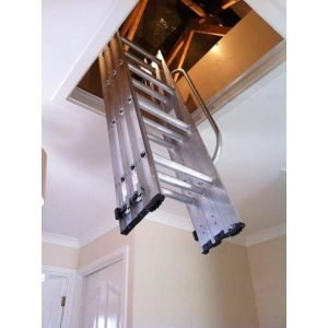 Werner ABRU 3-Section Loft Ladder