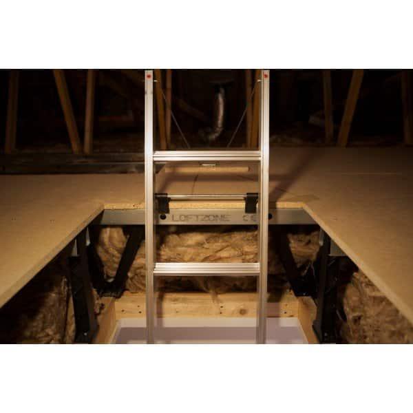 oungman Easiway Aluminium 3-Section Loft Ladder