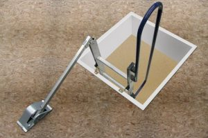 Abru Easy Stow Loft Ladder Spring Arm