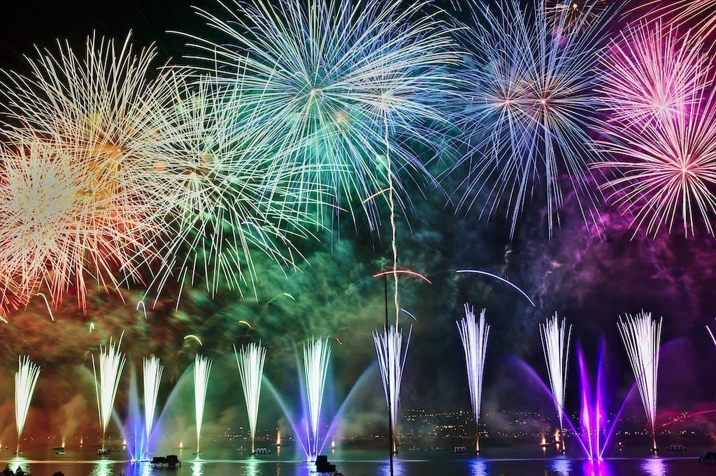 Bonfire Night Fireworks Events Central Scotland